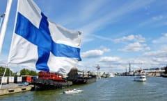 Day tour cruise into the Turku archipelago. Turku, Finland