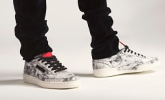Kendrick Lamar Reebok Club C On Feet
