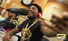 This is Meek Mill freestyling on DJ Clue's 105.1.
