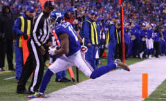 Giants WR Odell Beckham, Jr. makes another one-handed touchdown catch