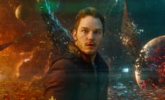 Chris Pratt guards the galaxy.