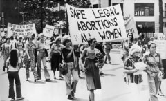 Pro-Abortion Rally In New York On September 9, 1977