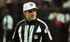 NFL referee Pete Morelli during a game.