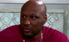 Lamar Odom is interviewed on 'The Doctors'.