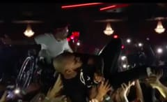 Tory Lanez Crowd Surfs With Fan in Wheelchair