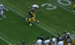 Iowa Hawkeyes versus Miami of Ohio college football game