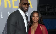 LeBron James and wife Savannah Brinson