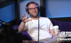 Seth Rogen talks 'Sausage Party' on 'The Howard Stern Show.'