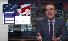"""John Oliver talks Trump's """"sarcasm"""" on 'Last Week Tonight.'"""