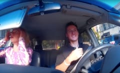 Uber driver shares crazy rides in hilarious compilation video.