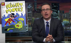 John Oliver has his own idea for a superhero movie.