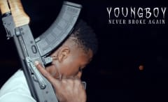 """NBA YoungBoy's """"I Ain't Hiding"""" video."""