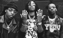 """This is Migos' art for their single """"Money Counter."""""""