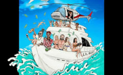 "This is T-Pain's single art for ""Dan Bilzerian."""