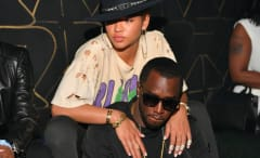 Cassie and Diddy make a club appearance in May 2016.