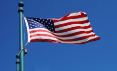This is an American flag.