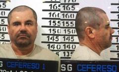 A mugshot of El Chapo