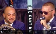 UFC 205 press conference