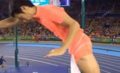 Japanese pole vaulter Hiroki Ogita's penis prevented him from advancing at the Rio Olympics.