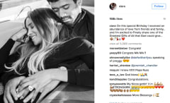 Ciara pregnancy announcement on IG