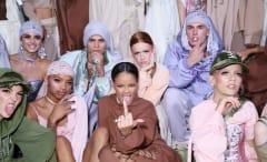 Rihanna's Fenty x Puma Spring 2017 runway show.