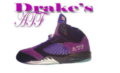 Drake Purple Air Jordan V