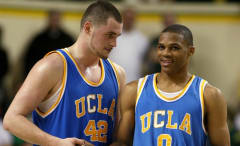 Kevin Love and Russell Westbrook were teammates at UCLA.