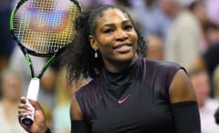 Serena Williams at the 2016 U.S. Open.