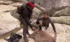 Marshawn Lynch appears on 'Running Wild with Bear Grylls.'