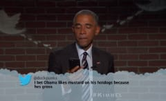 "Obama on ""Mean Tweets"""