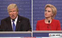 Hillary Clinton Donald Trump SNL