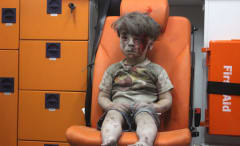 Injured Syrian refugee Omran Daqneesh