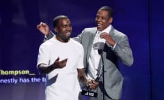 Jay Z and Kanye
