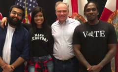 Push T and Tim Kaine Campaign in Miami