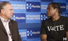 This is Pusha T interviewing Tim Kaine.