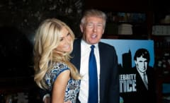 Donald Trump and Brande Roderick, 2013