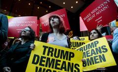 anti-trump women's protest