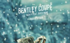 """Lil Yachty & Gucci Mane's """"Bentley Coupe"""" single cover."""