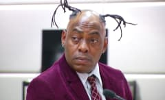 This is Coolio in court pleading guilty to his gun charge.