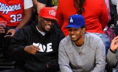 Anthony Tiffith and Kendrick Lamar