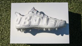 546f342ecdbb Another Nike Air More Uptempo Cleat for Odell Beckham