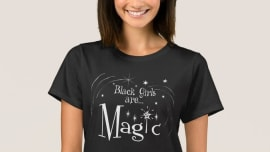 0a2bfd5c Online Store Promotes 'Black Girl Magic' Shirts Using White Models