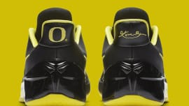 best website bd20b 31f20 Oregon Ducks Nike Kobe AD 922026-001 Heel