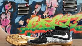 b250702ea9c6 Marshawn Lynch Has Custom 'Hyphy' Nike Cleats