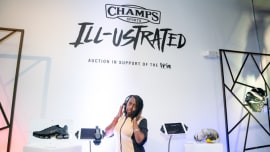 799277895bcac PROMO: Champs Sports Kicked off Art Basel with 'Ill-ustrated' Sneaker  Gallery and Auction