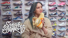 b256a6a07759b Billie Eilish Goes Sneaker Shopping With Complex