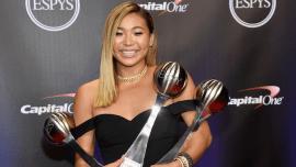 32dcab3bc Chloe Kim at the 2018 ESPYs.