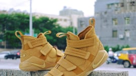 382fac0a633 Nike LeBron Soldier 11 SFG Wheat Release Date 897647-700 (1)