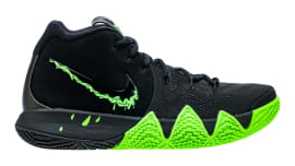 size 40 485e4 a579f Nike Kyrie 4 Black Rage Green Halloween Release Date 943806-012 Profile. Sole  Collector