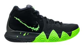 fcf61ec3c221 Nike Kyrie 4 Black Rage Green Halloween Release Date 943806-012 Profile